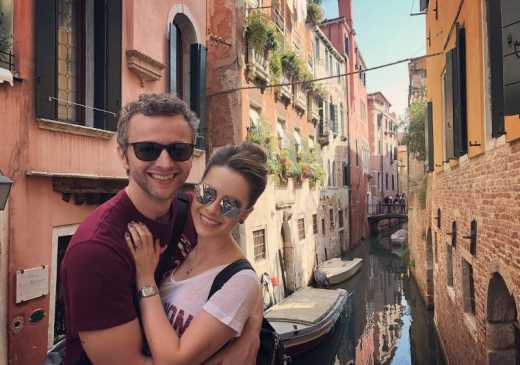 """Sandy e Lucas Lima celebram 10 anos de casados com viagem: """"Veneza e Roma"""""""