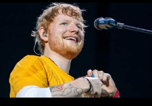 Ed Sheeran anuncia ter testado positivo para Covid-19